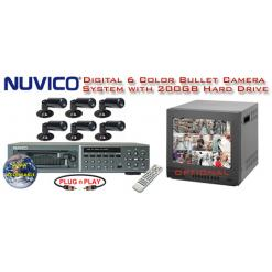 ***ALL DIGITAL *** 6 COLOR CAMERA SYSTEM WITH DIGITAL MULTIPLEXER RECORDER  ***Professional Grade***