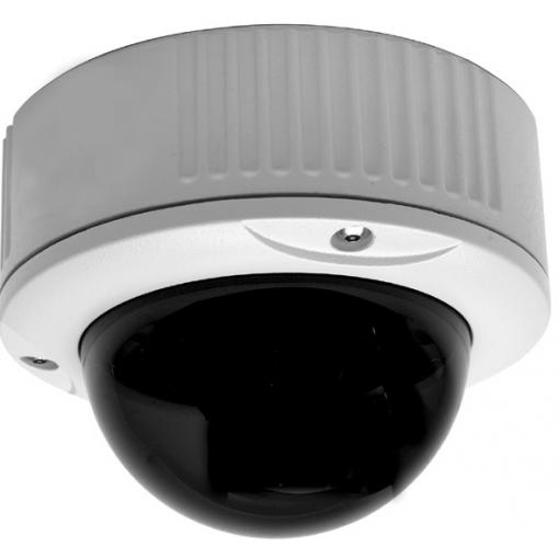 GE SECURITY DR-1500-VFA-T Dome Rugged High Res Color, Varifocal Lens 3-6mm, 10-40vdc/18-30vac, Twisted Pair