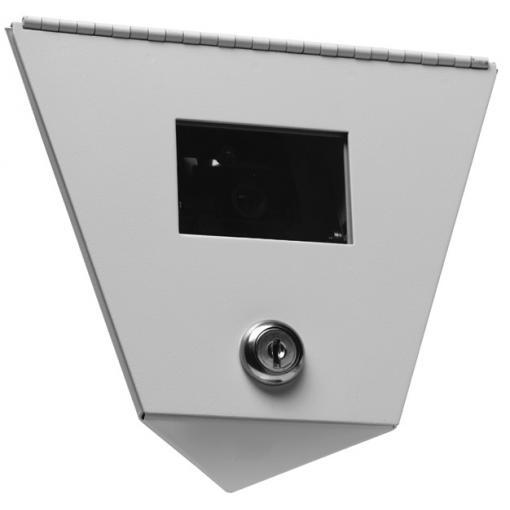 GE SECURITY DV-1200-12-S Dual View High Res. B/W, Surface Conduit Mount, 8mm Lens , 10-40vdc/18-30vac