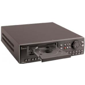 GE SECURITY DVMRe-4CT-160 4-CHANNEL COLOR TRIPLEX MULTIPLEXER-RECORDER W/ 160-GB HARD DRIVE, ETHERNET