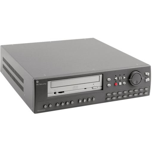 GE SECURITY 16-CHANNEL COLOR TRIPLEX MUTLIPLEXER-RECORDER WITH 600-GB HARD DRIVE,CDRW,ETHERNET,AUDIO,PRO