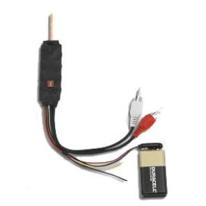 VIDEOCOMM 2.4GHz OMNI CHANNEL SELECT MINI Tx WITH ALARM INPUT AND RECEIVER KIT