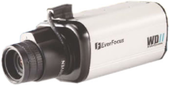 EVERFOCUS EQ600 1/3″ WIDE – DYNAMIC HIGH RESOLUTION COLOR CAMERA