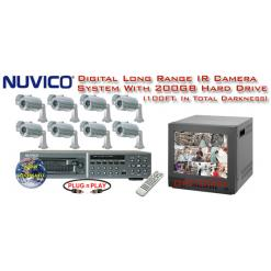 ***NEW*** NUVICO DIGITAL COMPLETE 8 LONG RANGE HI-RES IR CAMERA SYSTEM ***Professional Grade***