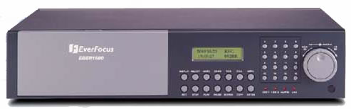 EVERFOCUS EDSR900F DIGITAL RECORDER 60 IPS 9 CHANNEL MULTIPLEXER