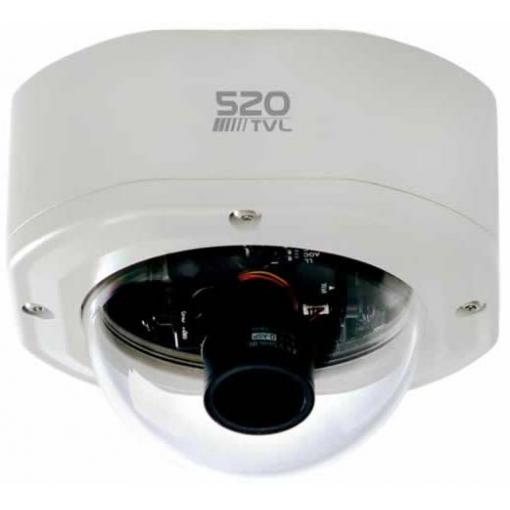 EVERFOCUS EHD525EX HIGH RESOLUTION DAY/NIGHT RUGGED DOME CAMERA
