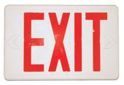 FIRST WITNESS FW-EXHW FULLY FUNCTIONAL EXIT SIGN W/ WIRED B/W CAMERA