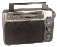 FIRST WITNESS FW-RD1HW FULLY FUNCTIONAL AM/FM RADIO W/ WIRED B/W CAMERA
