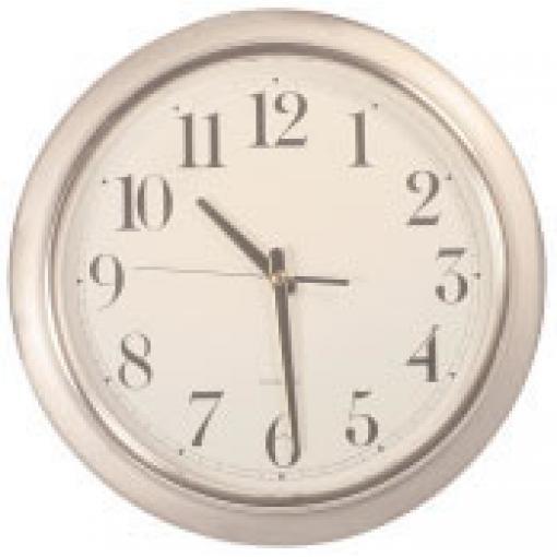 FIRST WITNESS FW-RWCHW FULLY FUNCTIONAL WALL CLOCK W/ WIRED B/W CAMERA