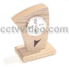 FULLY FUNCTIONAL WIRELESS B&W OAK CLOCK CAMERA FW-OAKA