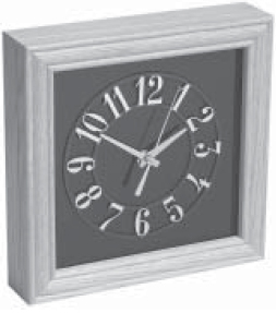 GE SECURITY GBC-CL-950-8 Clock camera, color 1/3″ CCD, 380 TVL, 1 lux, 8 mm lens
