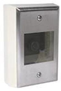 GE SECURITY GBC-SM-450-4 Surface-mount camera, fully adjustable, B/W 1/3″ CCD, 425 TVL, 0.1 lux, 4 mm lens