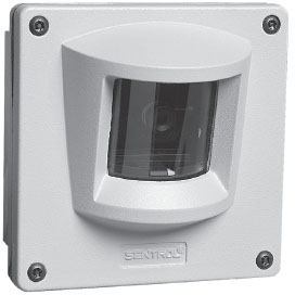 GE SECURITY GBC-TK-450-12 Ruggedized camera, B/W 1/3″ CCD, 425 TVL, 0.1 lux, 12 mm lens