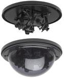 GBC MV-1203 3 CAMERA BLACK & WHITE MULTI-VIEW DOME