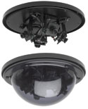 GBC MV-1204 4 CAMERA BLACK & WHITE MULTI-VIEW DOME