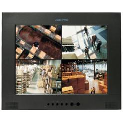 AGN EP17AV-LT 17″ FLAT PANEL LCD MONITOR WITH LOOP THROUGH