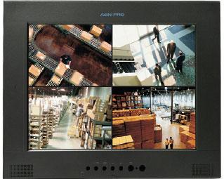 AGN EP15AV-LT 15″ FLAT PANEL LCD MONITOR WITH LOOP THROUGH