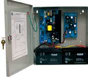 AL600UL3 UL Listed, Triple-Output Access Control Power Supply/Charger