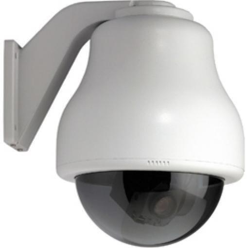 GE SECURITY KTA-CE4-F2T CyberDome Classic 22x B&W, 7-Inch Wall-Mount with Heater and Fan, Smoke Dome, 22x B&W, PAL, UTP Video