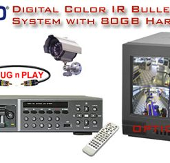 ALL DIGITAL 2 COLOR IR NIGHTVISION CAMERA SYSTEM WITH DIGITAL RECORDER  ***Professional Grade***