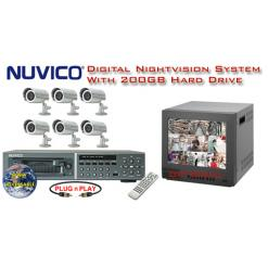 ALL DIGITAL WEATHERPROOF INFRARED SECURITY CAMERA SYSTEM ***Professional Grade***
