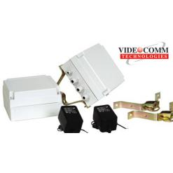 VIDEOCOMM TCO-5808Q4 ALL WEATHER 5.8GHz 8 CHANNEL SELECTABLE TRANSMITTER & RECEIVER KIT- UP TO 1 MILE