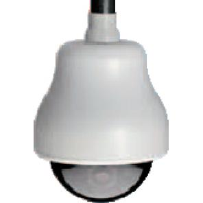 GE SECURITY KTA-HE3-0T HIGH RESOLUTION, COLOR GE CYBERDOME, CLEAR DOME, PENDANT MOUNT, HEATER