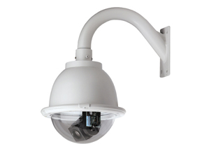 GE SECURITY KTA-PE2-E2T CyberDome Day-Nite 25x, PressurDome with Heater and Fan, Bronze Dome, 25x Color/Monochrome, PAL, UTP Video