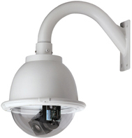 GE SECURITY KTA-PE3-F2T CyberDome Classic 22x B&W, PressurDome with Heater and Fan, Clear Dome, 22x B&W, PAL, UTP Video