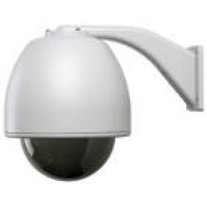 GE SECURITY KTA-RE9-F2C CyberDome Classic 22x B&W, 7 Inch Rugged Housing with Heater and Fan, Smoke Polycarbonate Dome, 22x B&W, PAL, Coax Video