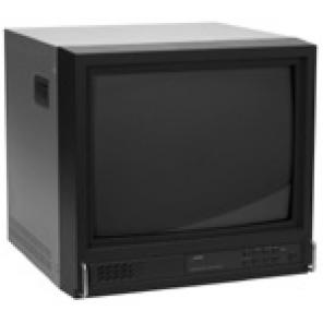 GE SECURITY MVC14S 14-INCH COLOR MONITOR W/ AUDIO