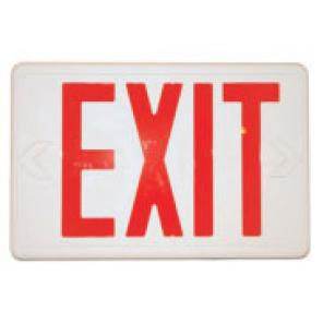 FIRST WITNESS EXA FULLY FUNCTIONAL EXIT SIGN W/WIRELESS B/W CAMERA