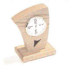 FIRST WITNESS OAKA FULLY FUNCTIONAL WIRELESS B&W OAK CLOCK CAMERA