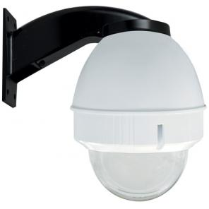 PANASONIC POD9CWT Outdoor housing for P-T-Z cameras (including WV-CS954), clear dome, wall mount, white