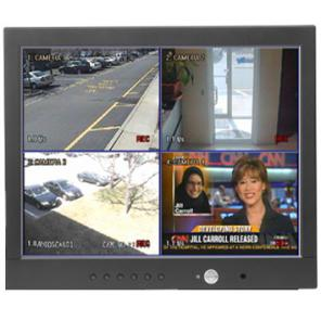PELCO 300 SERIES 17 INCH FLAT PANEL LCD MONITOR PMCL317 WITH MULTIMODE FUNCTIONALITY