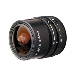RAINBOW L163VCS 1/3″ 1.6~3.4mm Manual Iris, CS-mount VARIFOCAL LENS