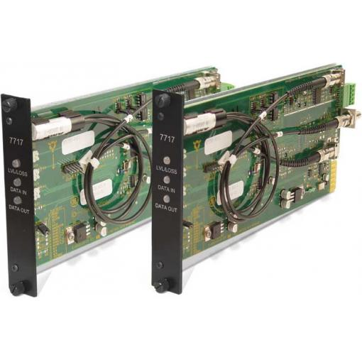 GE SECURITY S7717D-RST2 SM – Digital Current Loop, Tcvr, Rack, 2-Fiber