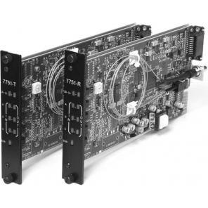 GE SECURITY S7751DAT-RST2 SM – 2-Way Audio & MPD Data, Digitally Processed, Tx, Rack, 2-Fiber
