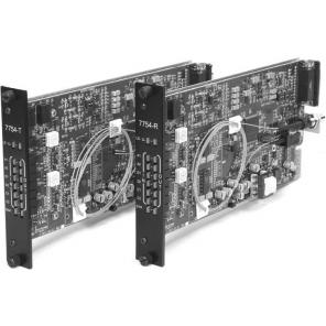 GE SECURITY S7754DAT-RST2L SM – 2-Way 2-CH Audio & MPD Data, Digitally Processed, Tx, Rack, 2-Fiber