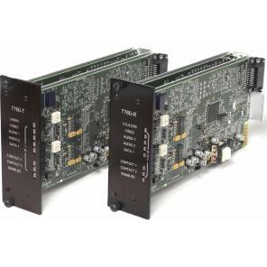 GE SECURITY S7760DAVT-RSTL SM – Video, Audio & MPD Data, Digitally Processed, Tx, Rack