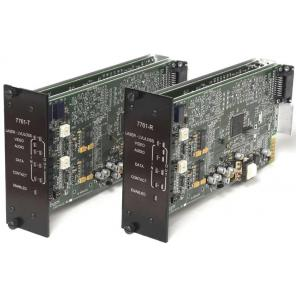 GE SECURITY S7761DAVT-RST2 SM – Video, 2-Way Audio & MPD Data, Digitally Processed, Tx, Rack, 2-Fiber