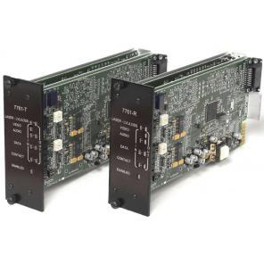 GE SECURITY S7761DAVT-RST2L SM – Video, 2-Way Audio & MPD Data, Digitally Processed, Tx, Rack, 2-Fiber