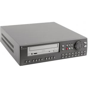 GE SECURITY SDVR-4P-160 4-CHANNEL COLOR TRIPLEX MULTIPLEXER-RECORDER W/ 160-GB HARD DRIVE, CDRW, ETHERNET, PRO
