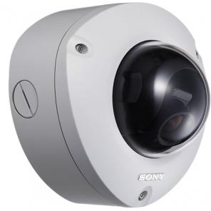 SONY SNC-DF70N NETWORK CAPABLE DAY/NIGHT COLOR MINI OUTDOOR DOME SECURITY CAMERA  ***Weatherproof Design***