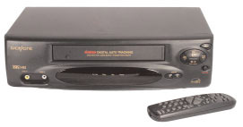FIRST WITNESS FW-VCRHW VCR WITH BUILT-IN B/W HIDDEN SPY CAMERA