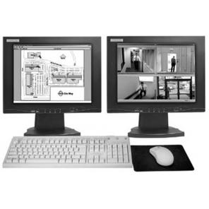 PELCO VMX200-SYS-Q Video Management Dual Monitor System 1 Quad Disk