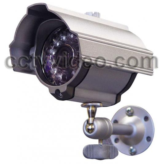 WATERPROOF COLOR BULLET DAY/NIGHT CAMERA WITH IR LEDs CVC-627