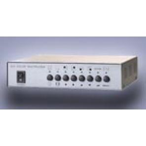 WELDEX WDM-400B 4 Channel B&W Quad Splitter / Switcher