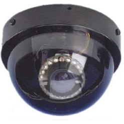 WELDEX  WDD-6405DN HIGH RESOLUTION INDOOR DAY/NIGHT MINI-ARMORDOME CAMERA, AC-24v