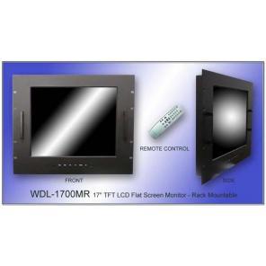 WELDEX WDL-1700MR Rack Mount 17″ TFT LCD Flat Screen Monitor